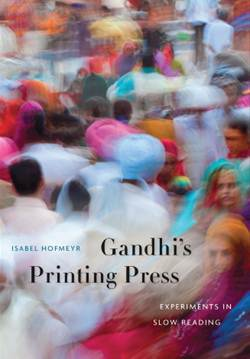 Gandhi's Printing Press Cover